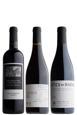 Our Family Collection: Red, Three-Bottle Case