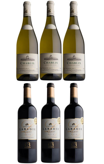 Chablis & Claret, Six-Bottle Gift