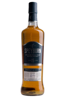 Speyburn 15 Year Old, Single Malt Scotch Whisky, Speyside (46%)