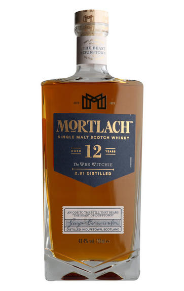 Mortlach, The Wee Witchie, Aged 12- Years, Single Malt Whisky, (43.4%)