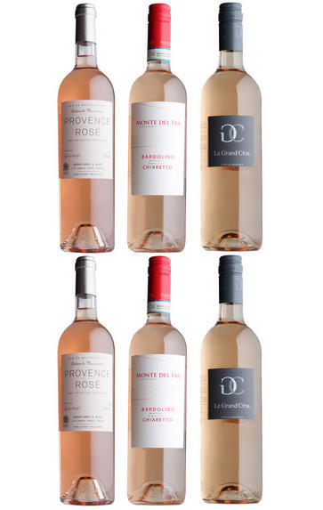 The Rosé Lover's Case, Three-Bottle Mixed Case