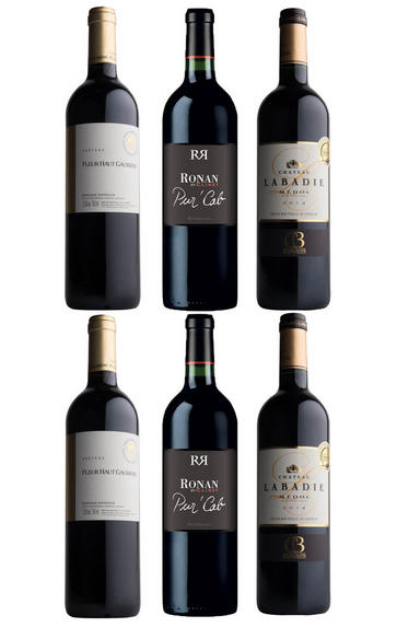 Brilliant Bordeaux, Six-Bottle Mixed Case