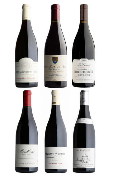 Burgundy Reds, Six-Bottle Mixed Case