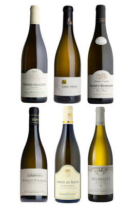 Burgundy Whites, Six-Bottle Mixed Case