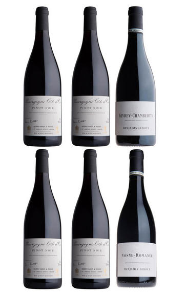 Benjamin Leroux Pinot Noir Selection, Six-Bottle Mixed Case