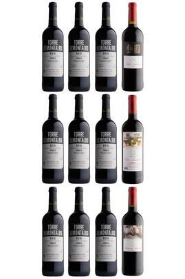 Bodegas Amézola de la Mora Rioja Selection, 12-Bottle Mixed Case