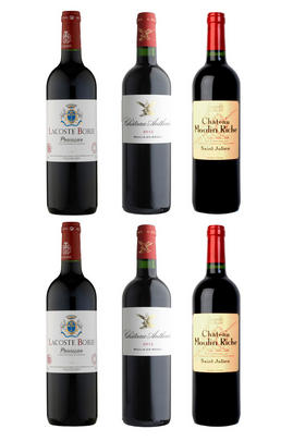 Bordeaux Left Bank Selection, Six-Bottle Mixed Case