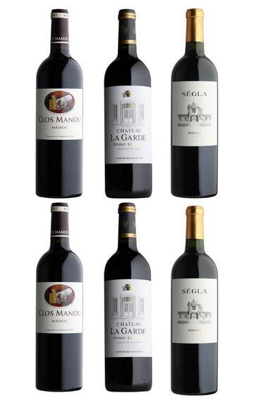 Bordeaux Left Bank Selection, Six-Bottle Mixed Case