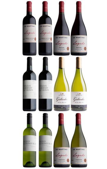 De Martino Chilean Selection, 12-Bottle Mixed Case