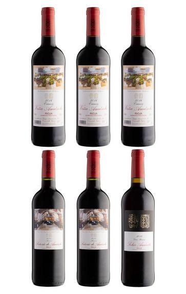 Bodegas Amézola de la Mora Rioja Selection, Six-Bottle Mixed Case