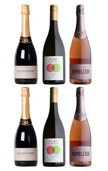 English Wine Selection, Six-Bottle Mixed Case