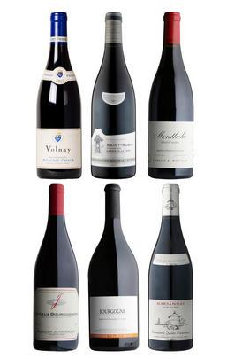 Taste of Red Burgundy, Six-Bottle Mixed Case