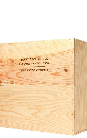 Three-Bottle Wooden Gift Box