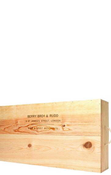 Six-Bottle Wooden Gift Box
