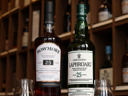 London Shop Late: Laphroaig & Bowmore, Thursday 11th November 2021